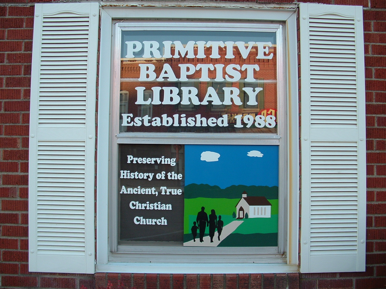 Primitive Baptist Library of Carthage, Illinois